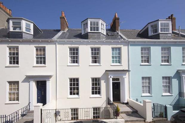 4 Bedrooms Terraced House for sale in Rozel Terrace, Mount Durand, St Peter Port