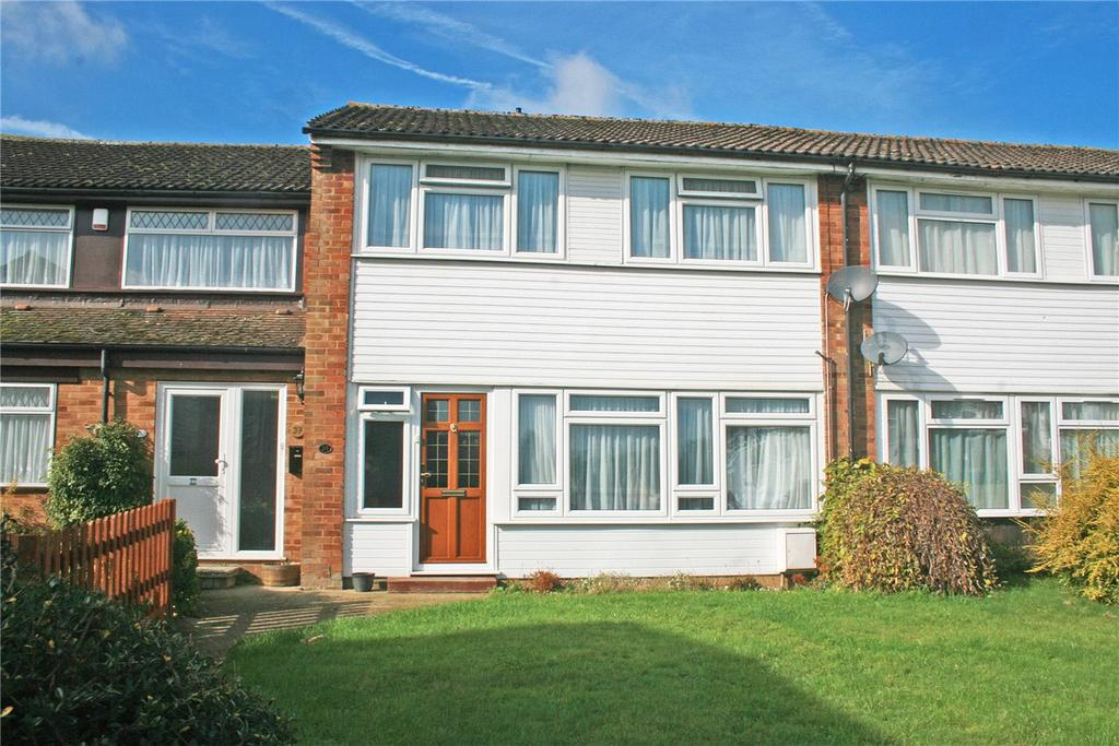 3 Bedrooms Terraced House for sale in Russell Close, Kensworth, Dunstable, Bedfordshire