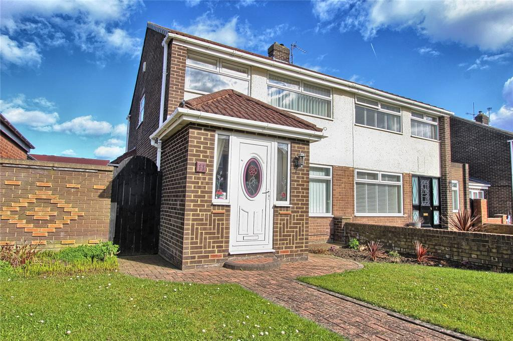 3 Bedrooms Semi Detached House for sale in Cockfield Avenue, Billingham
