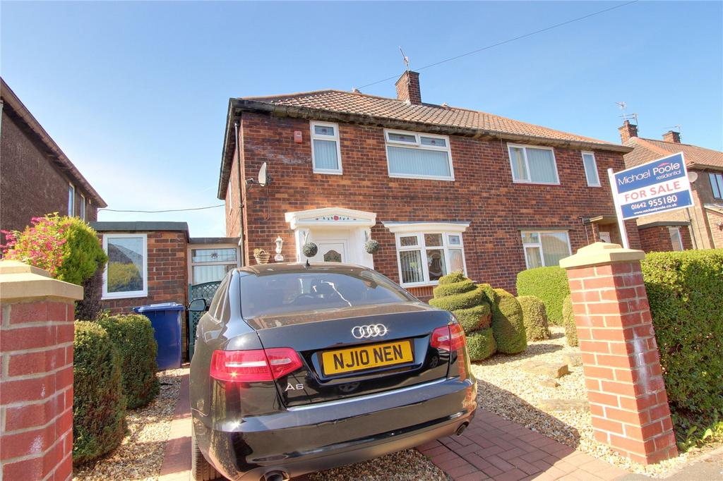 2 Bedrooms Semi Detached House for sale in Park Avenue, Teesville