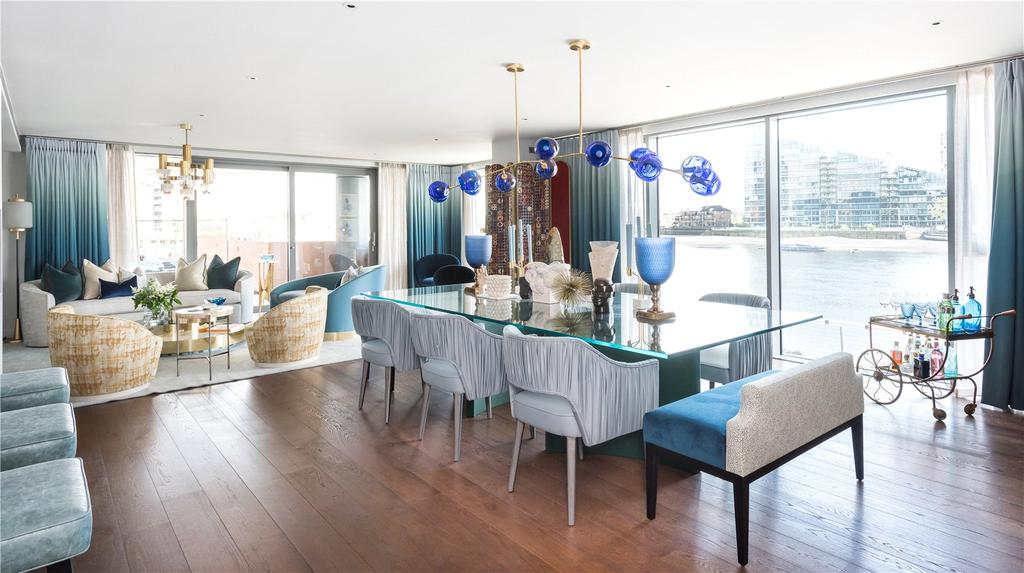 5 Bedrooms Flat for sale in Chelsea Waterfront, Lots Road, London, SW10