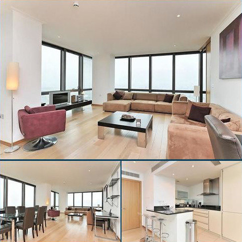 2 bedroom flat to rent - No. 1 West India Quay, Hertsmere Road, Nr Canary Wharf, Docklands, London, E14