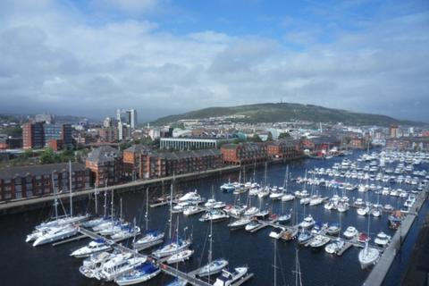 1 bedroom apartment to rent - Meridian Tower, Trawler Road, Swansea. SA1 1JN