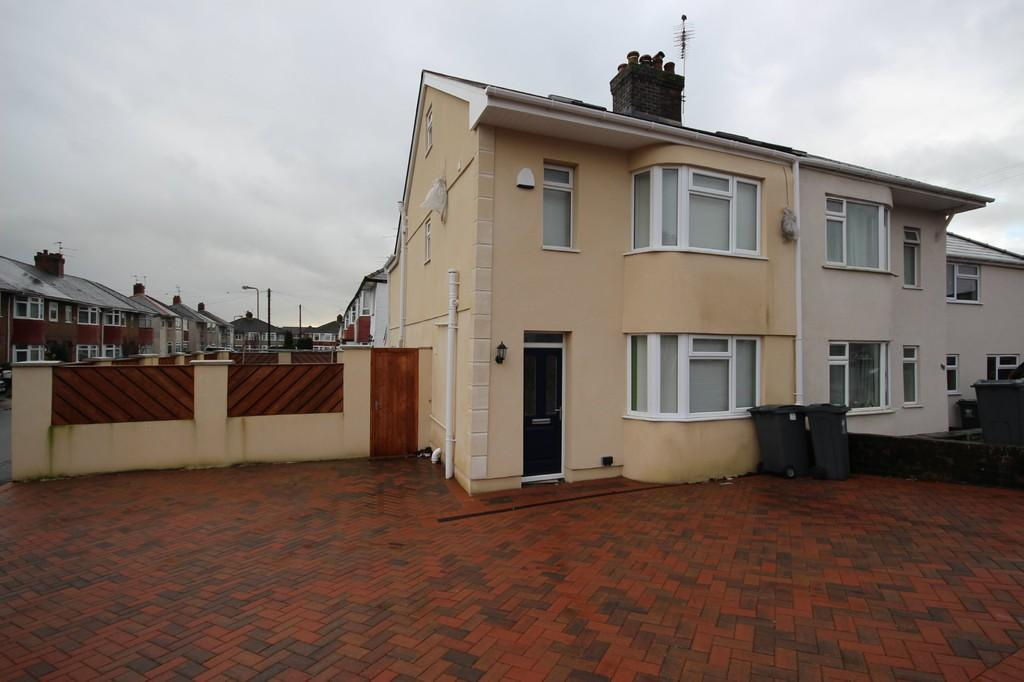 4 Bedrooms Semi Detached House for sale in Ty Wern Road, Rhiwbina, Cardiff
