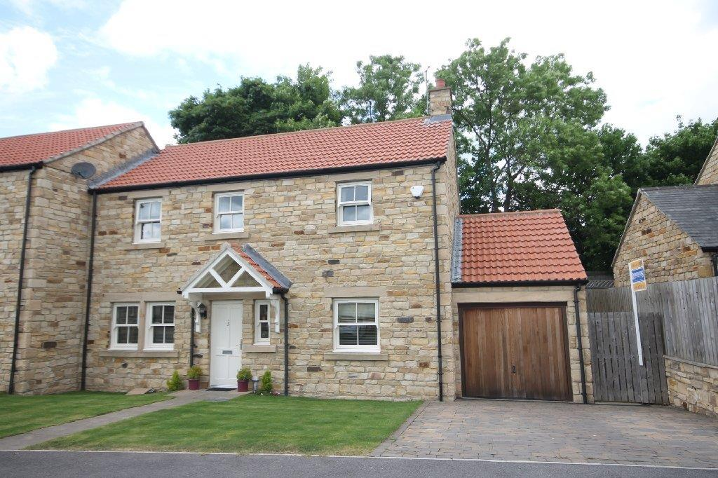 3 Bedrooms Semi Detached House for sale in The Paddock Witton Le Wear, Bishop Auckland