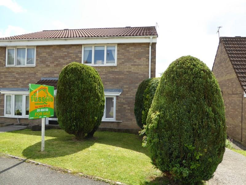 2 Bedrooms Semi Detached House for sale in Brynawel, Caerphilly