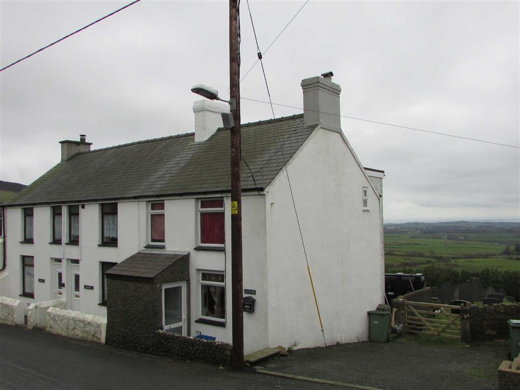 2 Bedrooms End Of Terrace House for sale in Llithfaen, Gwynedd