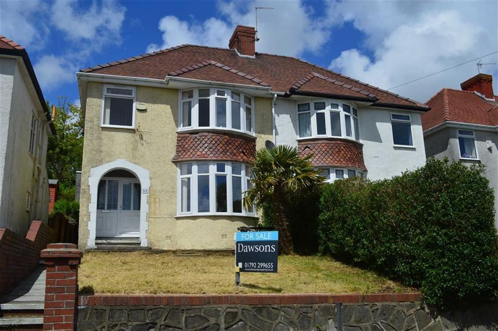 3 Bedrooms Semi Detached House for sale in Lon Bryngwyn, Swansea, SA2