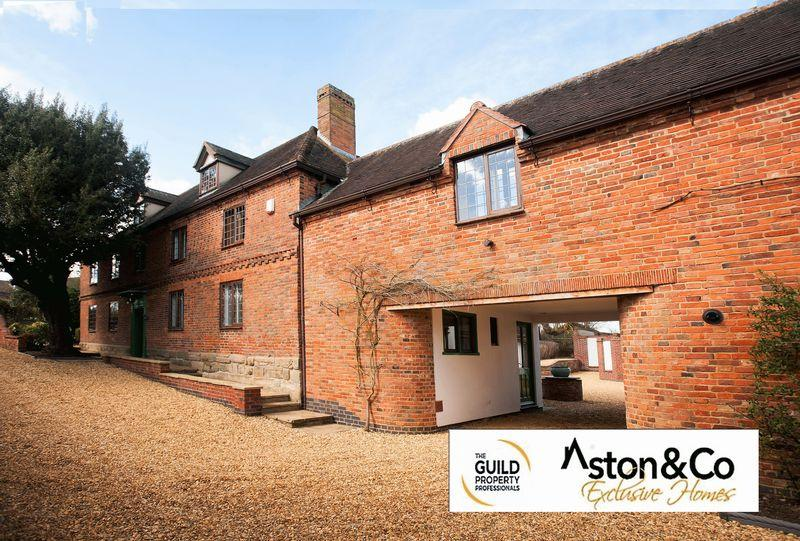 8 Bedrooms Detached House for sale in The Old Dairy Farmhouse, Claybrooke Magna, Leicestershire
