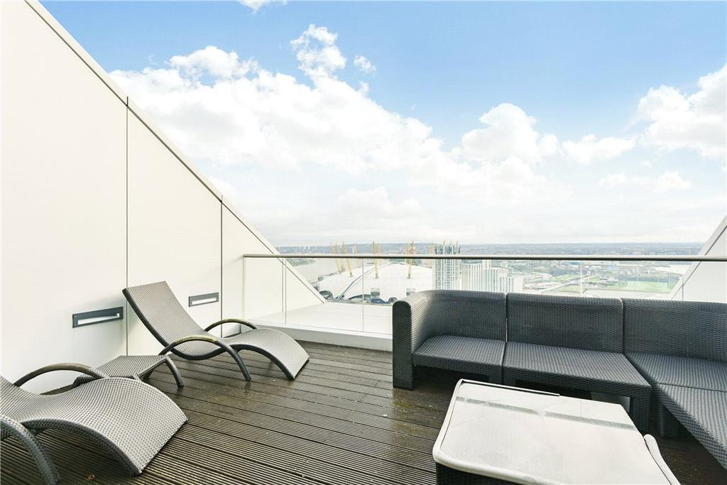2 Bedrooms Penthouse Flat for sale in Ontario Tower, 4 Fairmont Avenue, Isle Of Dogs, London, E14