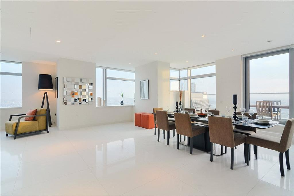 3 Bedrooms Flat for sale in Pan Peninsula Square, South Quay, London, E14