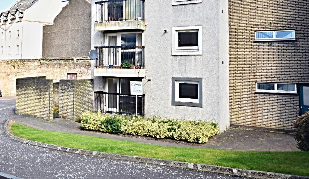 1 Bedroom Ground Flat for sale in Mill Street, Ayr, Ayrshire, KA7 1TJ
