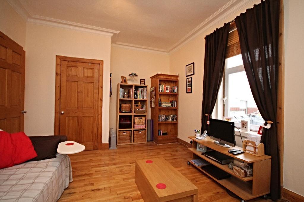 1 Bedroom Flat for sale in McCalls Avenue, Ayr, Ayrshire, KA8 9AA
