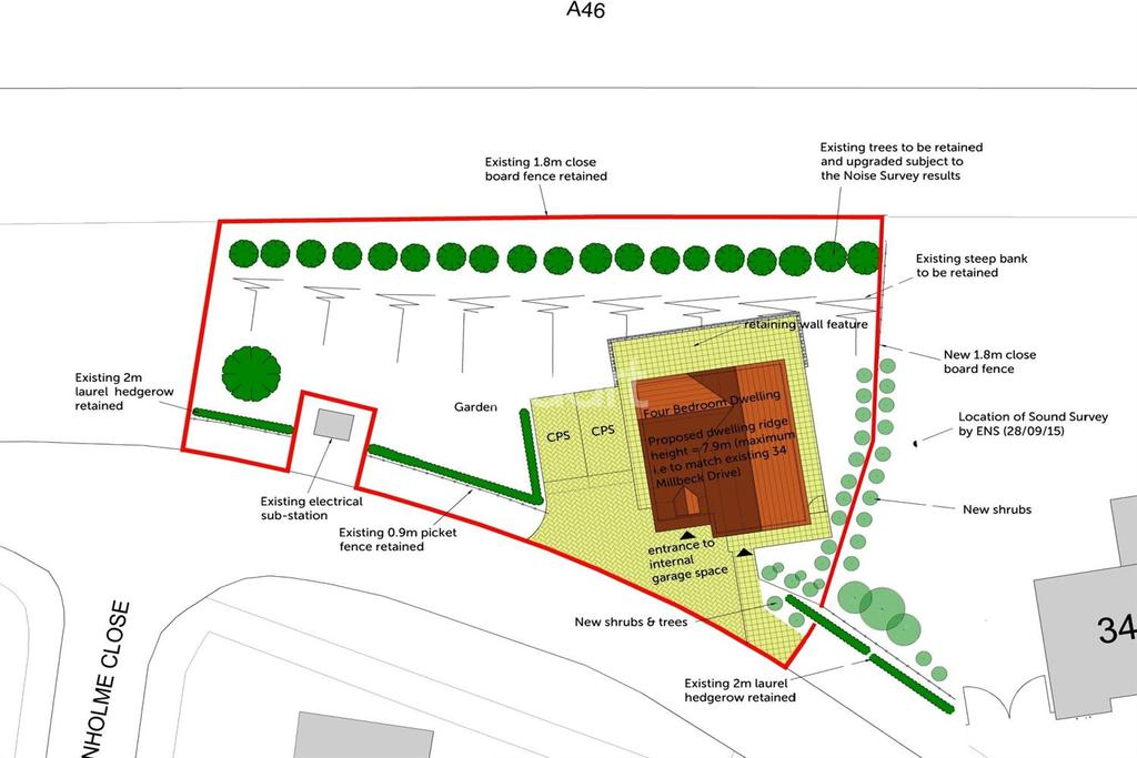 Land Commercial for sale in Land Adjacent to 34 Millbeck Drive, Lincoln