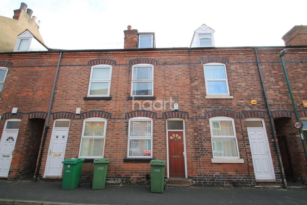 3 Bedrooms Terraced House for sale in Hart Street, Lenton, Nottingham
