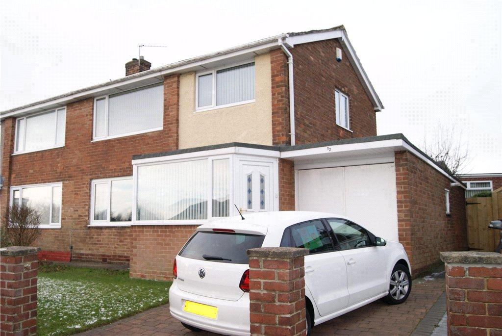 3 Bedrooms Semi Detached House for sale in Richmond Road, Newton Hall, DH1