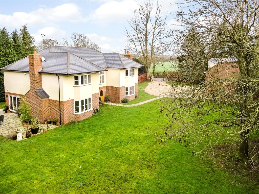 5 Bedrooms Detached House for sale in Baydon, Marlborough, Wiltshire