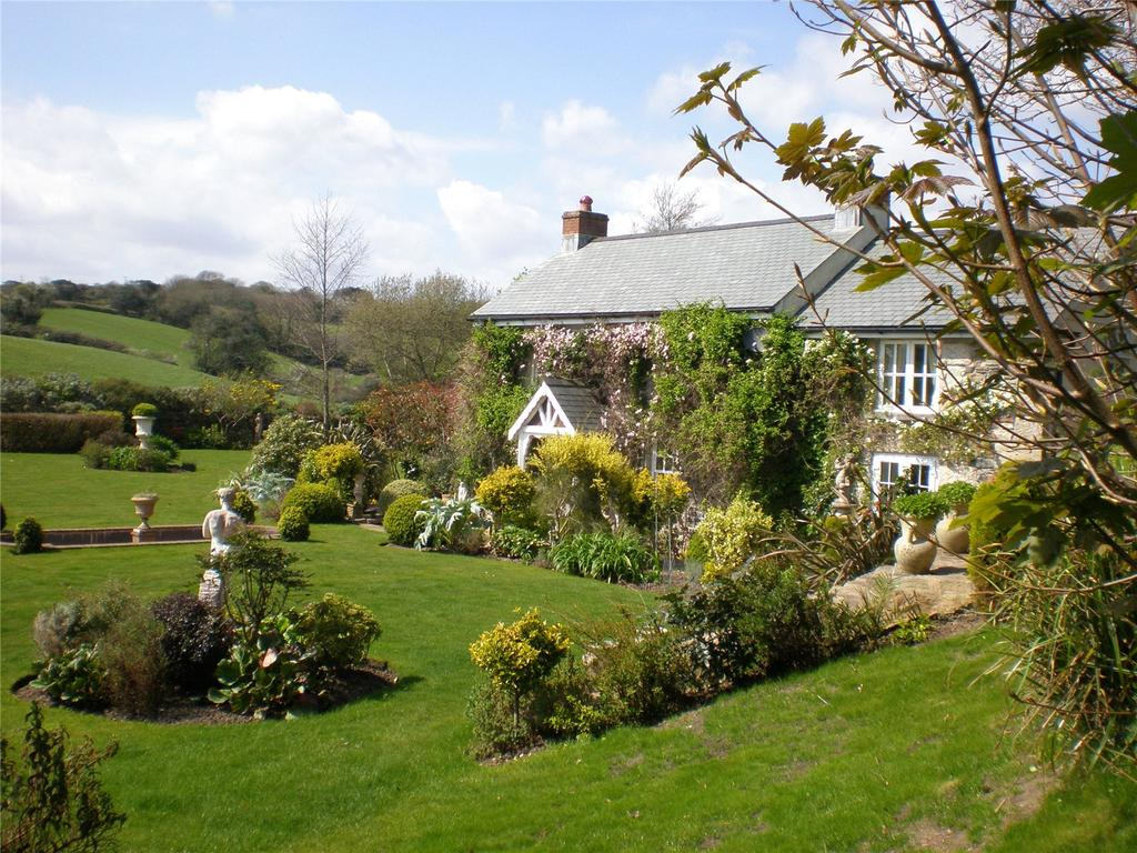 4 Bedrooms Detached House for sale in Relubbus, Penzance, Cornwall