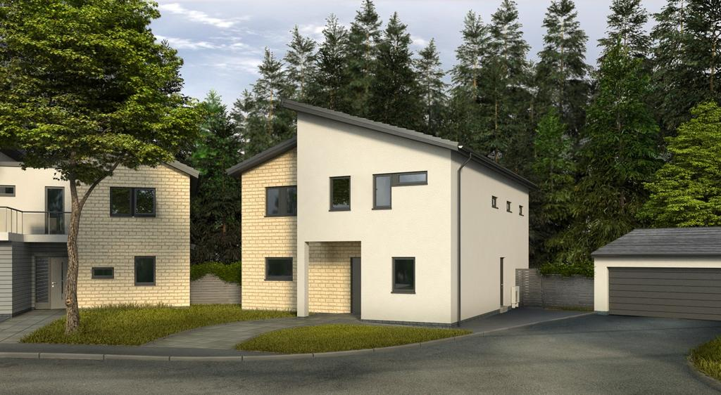5 Bedrooms Detached House for sale in Kingen, Hexham Gate, Corbridge Road, Hexham, Northumberland NE46