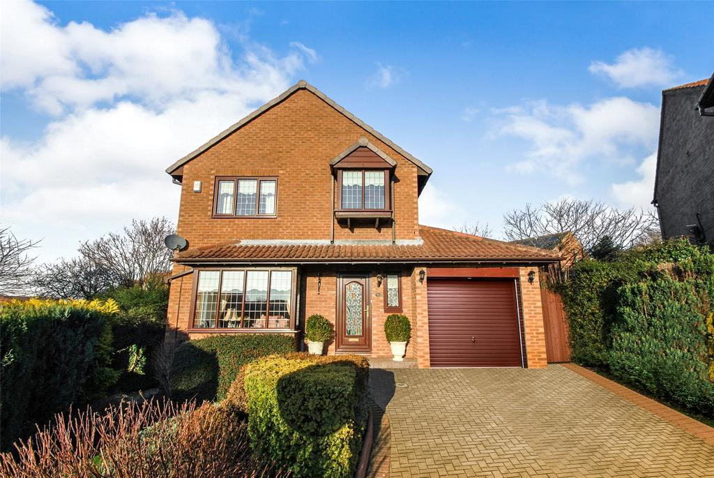 4 Bedrooms Detached House for sale in Lynton Court, Lambton Grange, Newbottle, Houghton le Spring, DH4