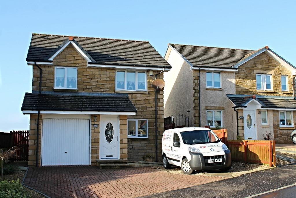 3 Bedrooms Detached House for sale in Dippol Crescent, Auchinleck, Ayrshire, KA18 2BZ