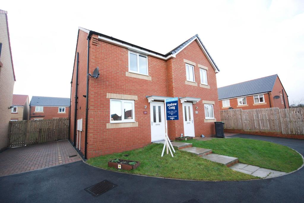 2 Bedrooms Semi Detached House for sale in Viscount Close, Stanley