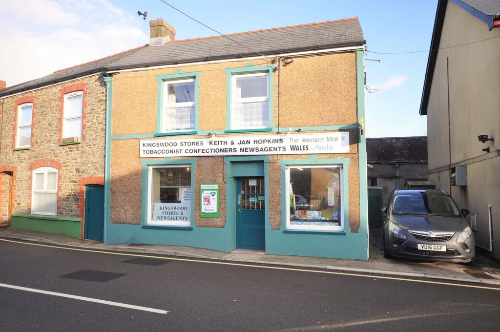 4 Bedrooms End Of Terrace House for sale in Kingswood Stores, Station Road, St.Clears Carmarthenshire SA33 4BG
