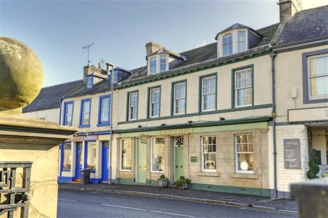 4 Bedrooms Terraced House for sale in High Street, Coldstream, Berwickshire, TD12