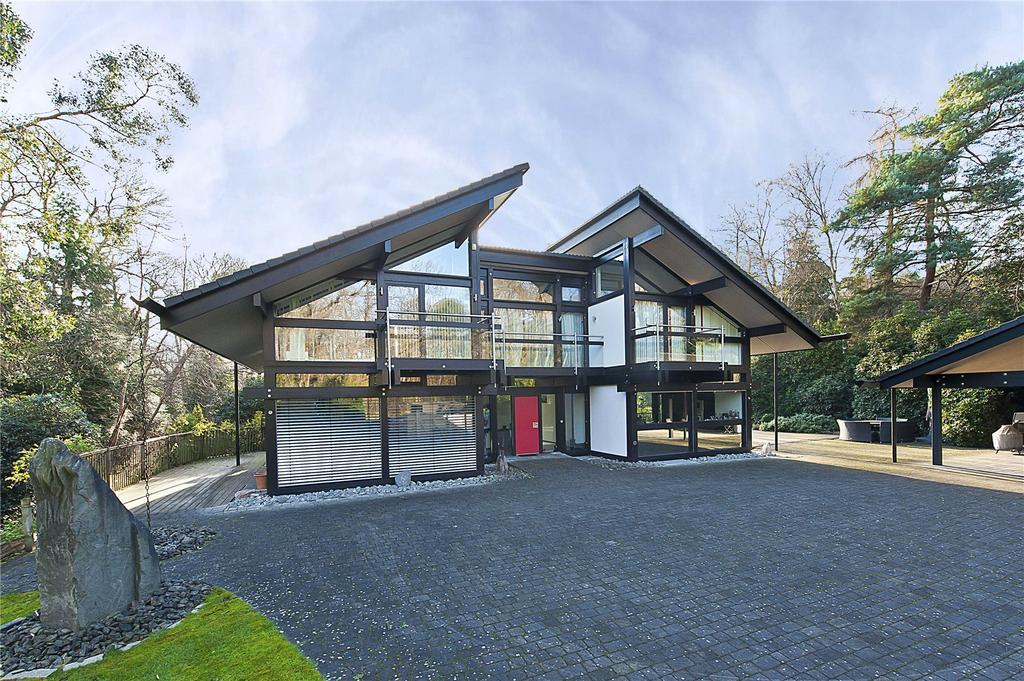6 Bedrooms Detached House for sale in Seven Hills Road, Cobham, Surrey, KT11