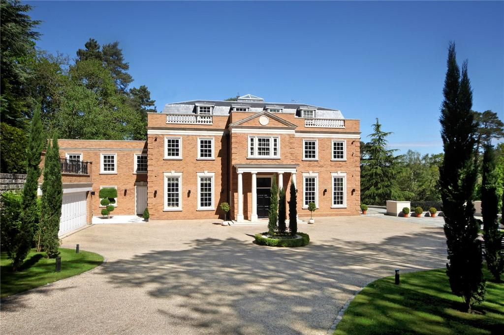7 Bedrooms Detached House for sale in Yaffle Road, St. George's Hill, Weybridge, Surrey, KT13