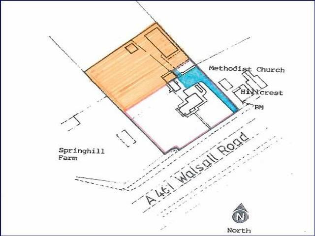 Plot Commercial for sale in Walsall Road,Springhill,Lichfield