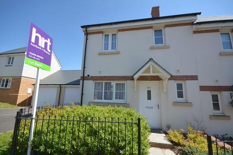 3 bedroom semi-detached house to rent - Ffordd Y Draen, Coity, CF35 6BF