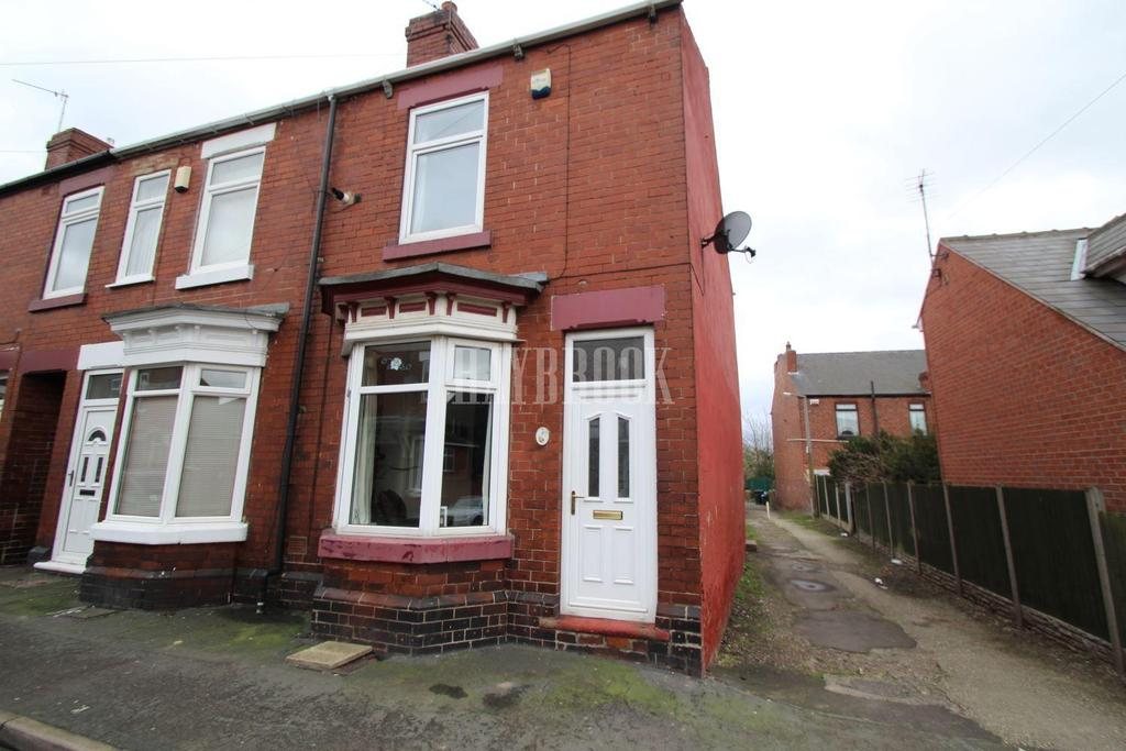 2 Bedrooms End Of Terrace House for sale in Pym Road, Mexborough