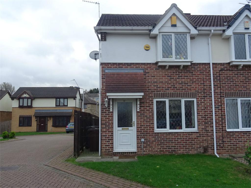 2 Bedrooms Semi Detached House for sale in Tannerbrook Close, Clayton, Bradford, West Yorkshire, BD14