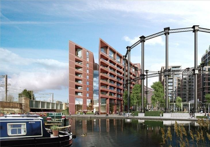 1 Bedroom Flat for sale in Tapestry Building, Canal Reach,YW, York Way, Kings Cross, London, N1