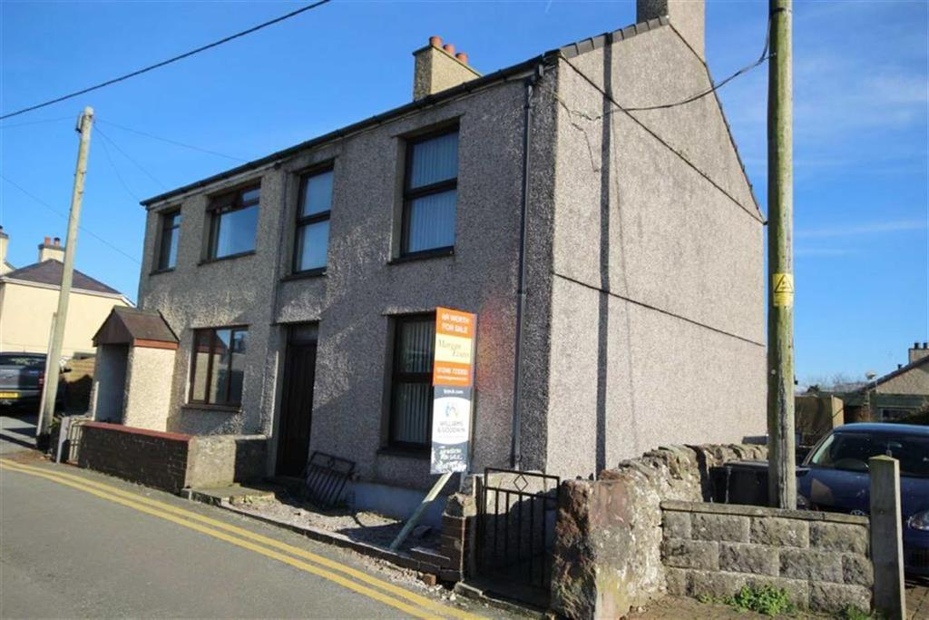 2 Bedrooms Semi Detached House for sale in Lon Uchaf, Brynsiencyn, Anglesey, LL61