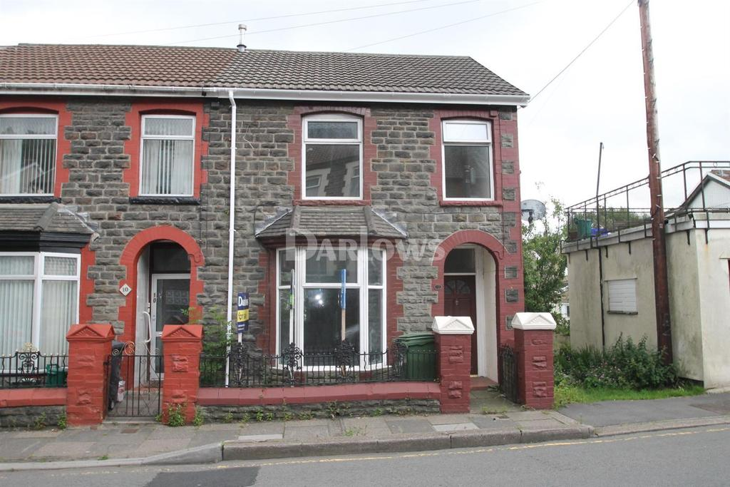2 Bedrooms End Of Terrace House for sale in Aberdare Road, Abercynon