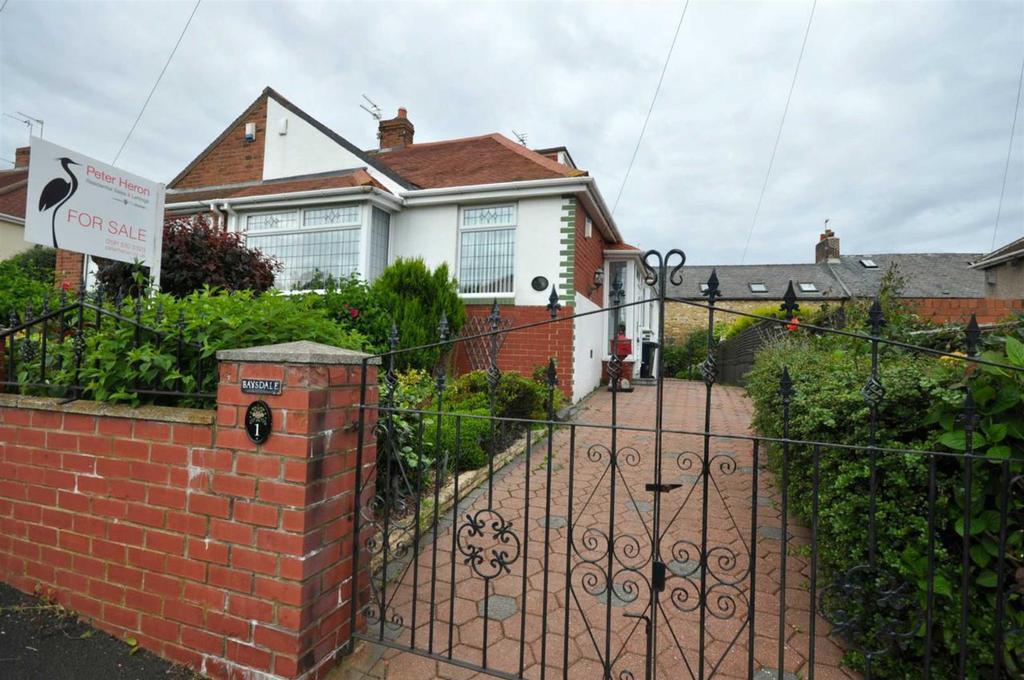 2 Bedrooms Semi Detached Bungalow for sale in Irene Avenue, Grangetown, Sunderland