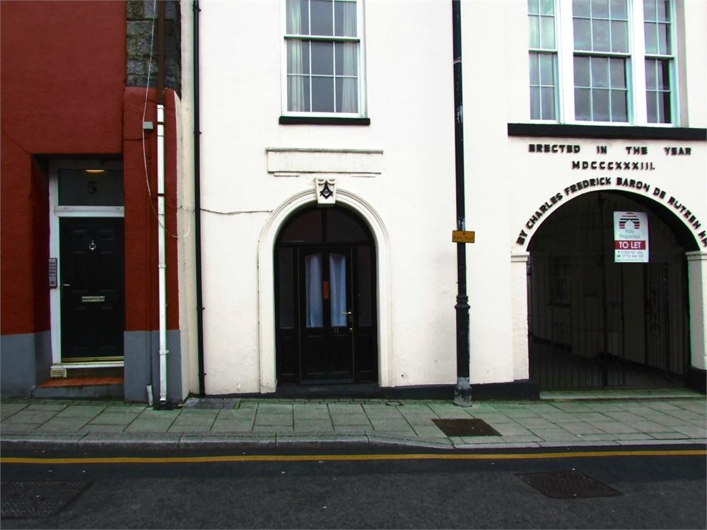 Studio Flat for sale in 11 De Rutzen, Market Street, Narberth, Pembrokeshire