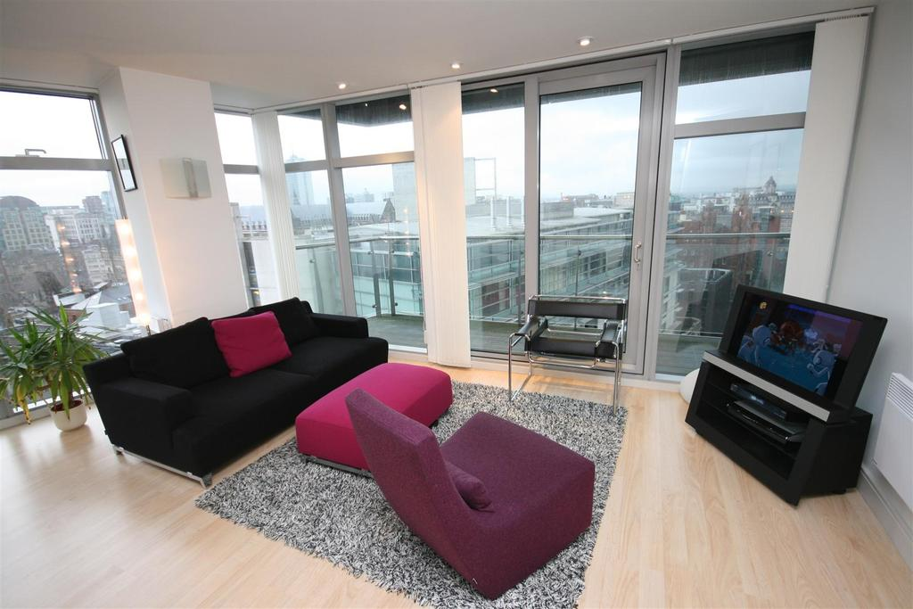 2 Bedrooms Flat for rent in Great Northern Tower, 1 Watson St, Manchester