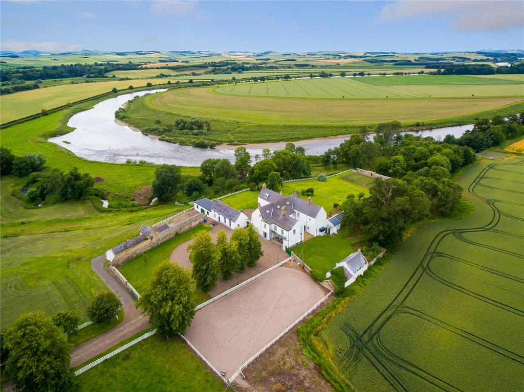 7 Bedrooms Equestrian Facility Character Property for sale in Cornhill House, Cornhill-on-Tweed, Northumberland, TD12