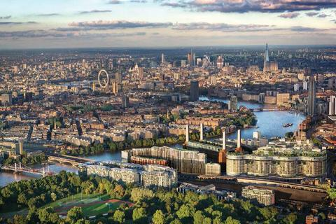 3 bedroom penthouse for sale - Fladgate Penthouse, Battersea Power Station SW8