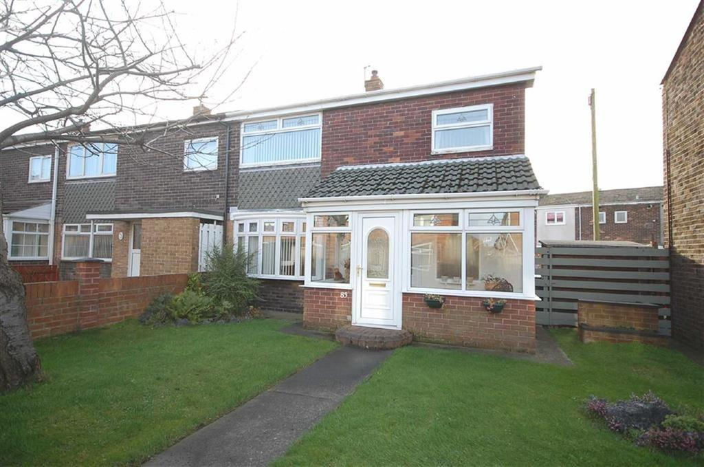 3 Bedrooms End Of Terrace House for sale in Chesterton Road, Biddick Hall, South Shields