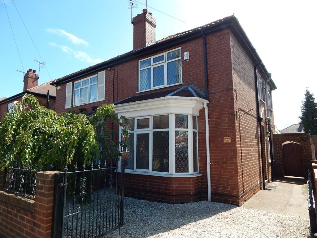 3 Bedrooms Semi Detached House for sale in Alderson Drive, Bennetthorpe