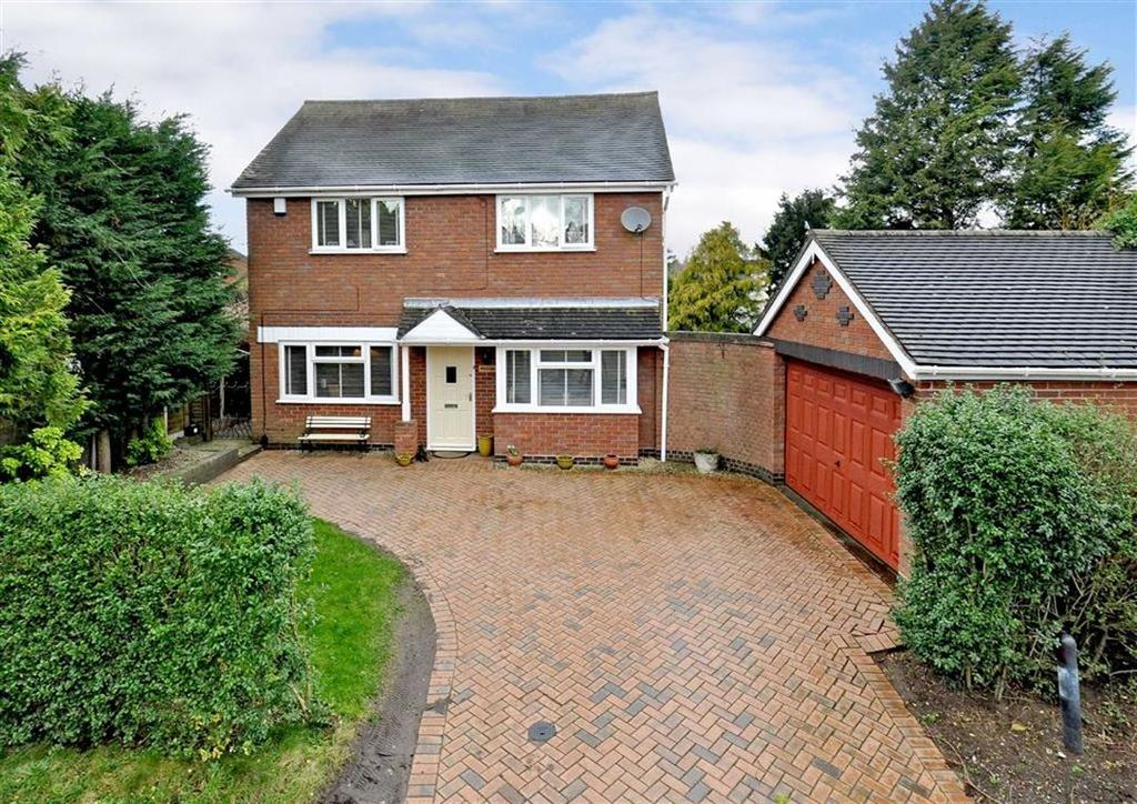 3 Bedrooms Detached House for sale in Willow Lodge, Church Lane, Codsall Wood, Wolverhampton, South Staffordshire, WV8