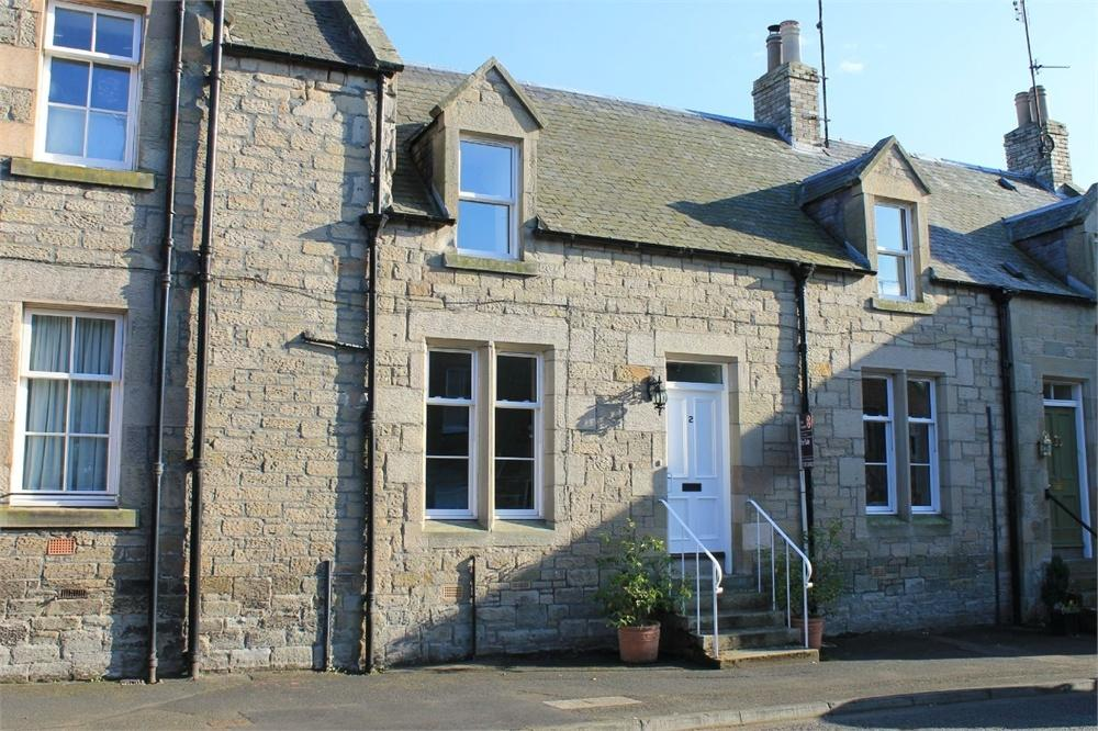 2 Bedrooms Terraced House for sale in 2 Viewfield Terrace, Leet Street, Coldstream, Berwickshire, Scottish Borders