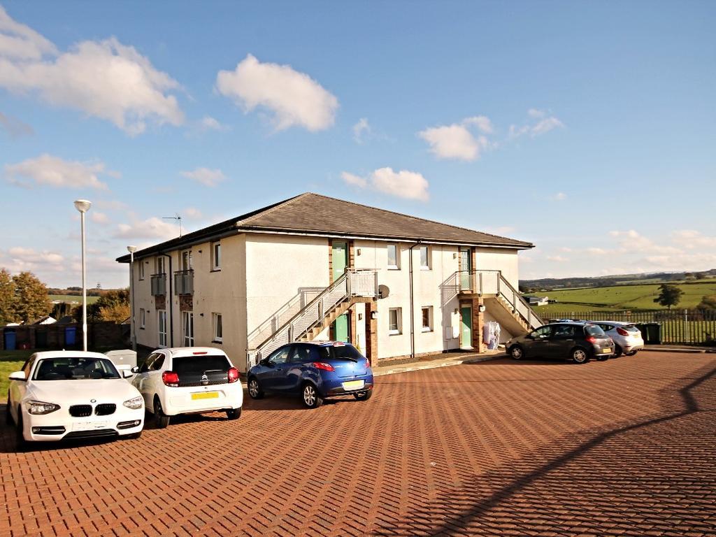 2 Bedrooms Ground Flat for sale in Old School Wynd, Ochiltree, Cumnock, Ayrshire, KA18 2DA