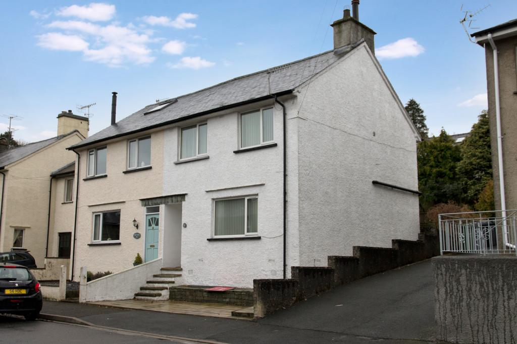 3 Bedrooms Semi Detached House for sale in 16 Thornthwaite Road, Windermere, Cumbria, LA23 2DN