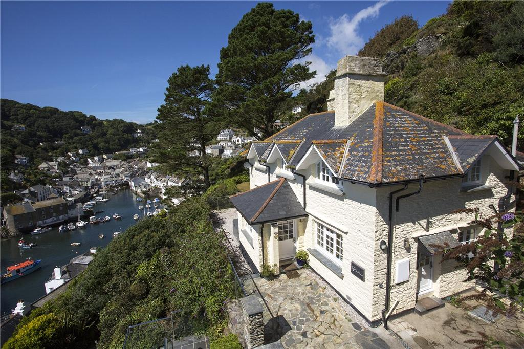 4 Bedrooms Detached House for sale in The Warren, Polperro, Cornwall, PL13