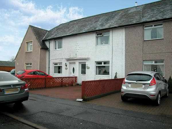 3 Bedrooms Terraced House for sale in 51 Central Avenue, North Ayrshire, Kilbirnie, KA25 6JP